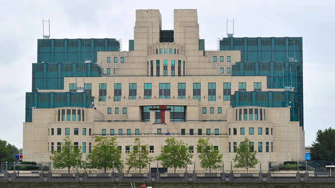 MI6 building in London. (Reuters)