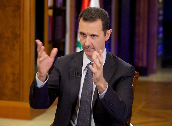 Syrian President Bashar al-Assad (AFP Photo)
