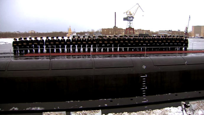 Russian navy boosted with new nuclear attack submarine