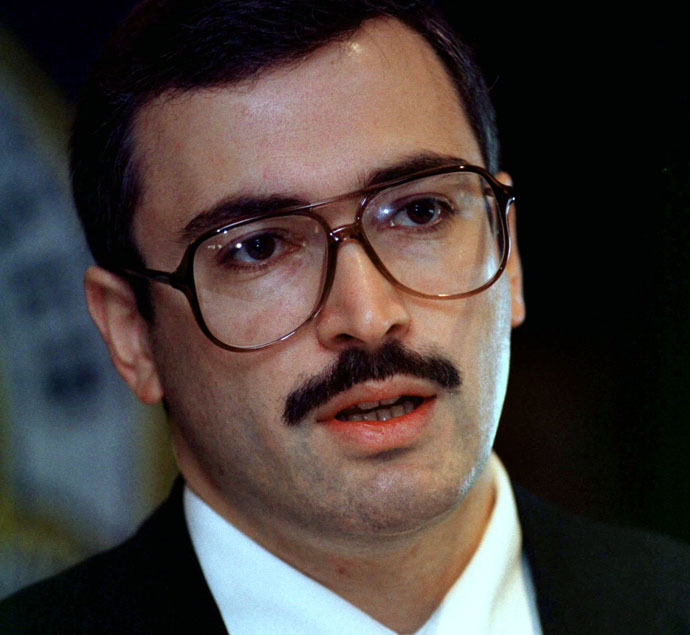 Mikhail Khodorkovsky, May 7, 1997 (Reuters/Mike Theller)