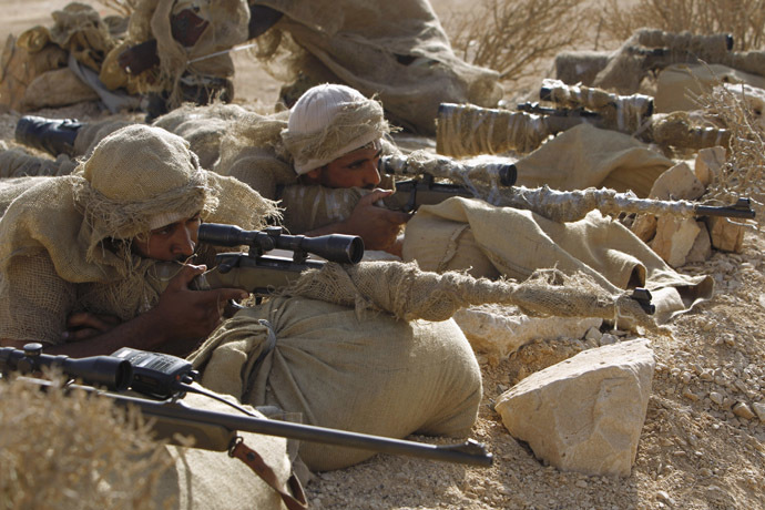 Saudi special forces snipers (Reuters/Fahad Shadeed)