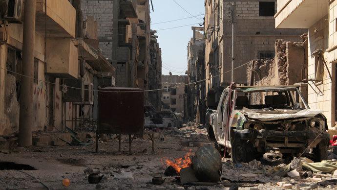Suicide bombing near Shiite school in Syria's Homs kills 7, incl 5 children