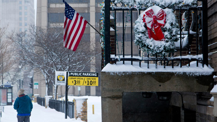 Deadly cold snap in US shatters temp. records, sends even polar bears to shelter