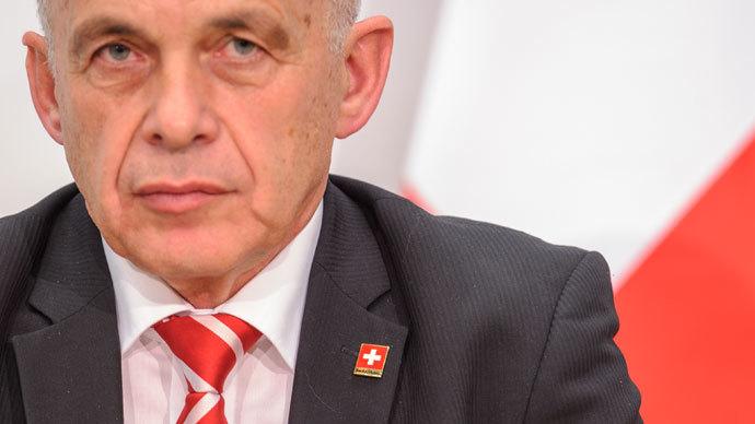 President of the Swiss confederation Ueli Maurer.( AFP Photo / Sebastien Bozon)