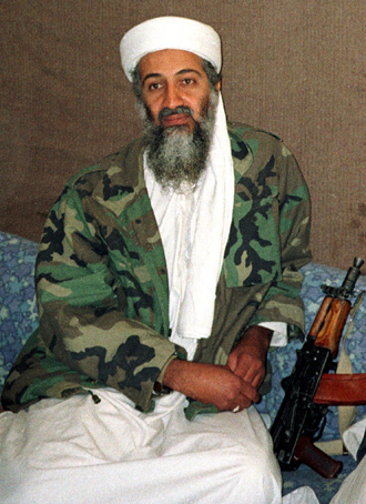 Osama Bin Laden (Reuters / Hamid Mir / Editor / Ausaf Newspaper for Daily Dawn)