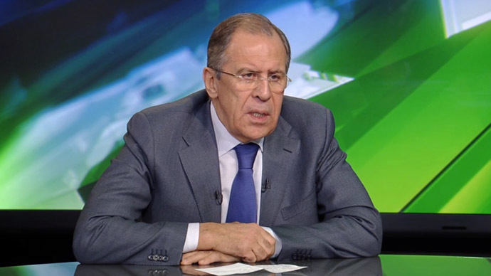 West starting to realize they are aiding terrorists in Syria - Lavrov to RT