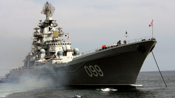 Russian warships to escort Syrian chemical weapons - military source