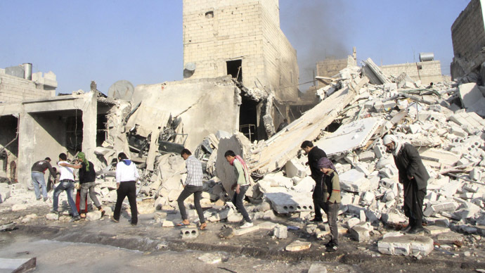 Over 360 killed in Syrian army airstrikes on Aleppo - activists