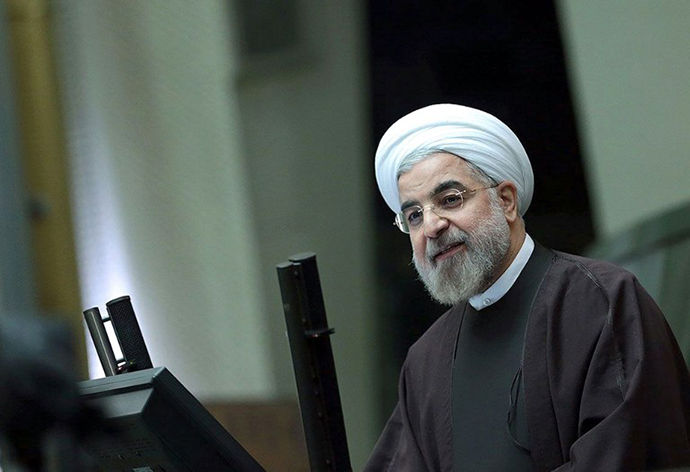 The Islamic Republic's President Hassan Rouhani (AFP Photo / The Iranian presidency)