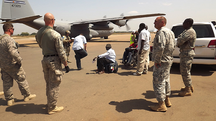 ​US sends Marines to Uganda to aid South Sudan evacuations