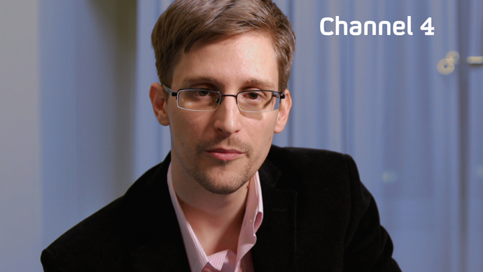 US intelligence leaker Edward Snowden.(AFP Photo / Channel 4)