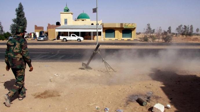 FILE PHOTO. Sabha, Libya. (AFP Photo)
