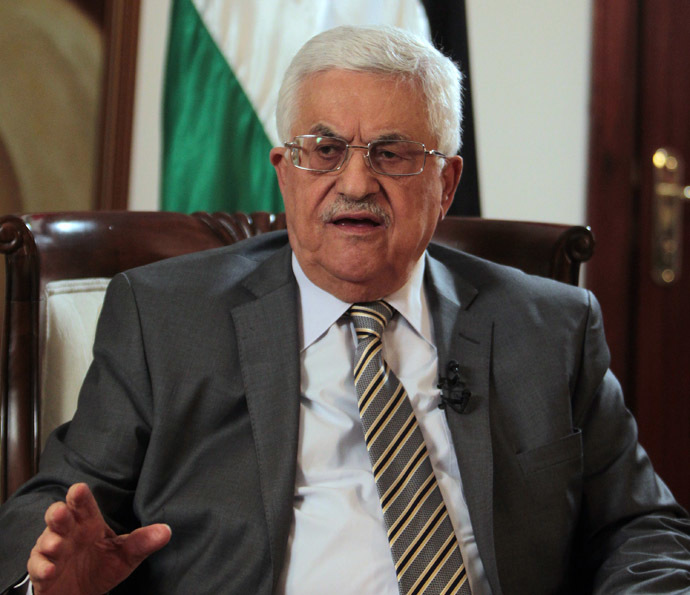 Palestinian leader Mahmud Abbas (AFP Photo)