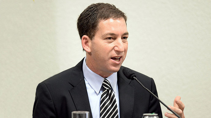 Greenwald: US, British media are servants of security apparatus