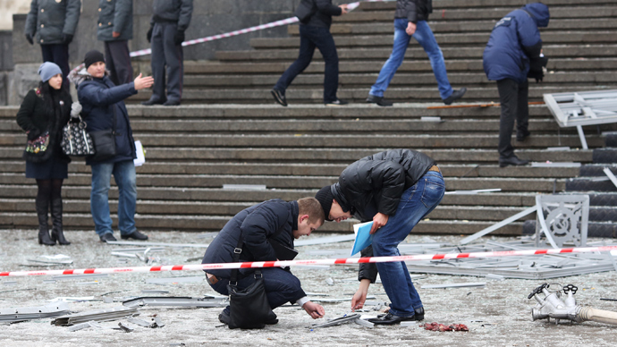 Policeman dies shielding others in Volgograd suicide blast