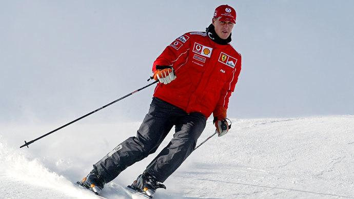 Michael Schumacher undergoes second brain operation after skiing accident