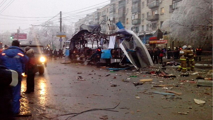 Volgograd trolley bus blast: LIVE UPDATES