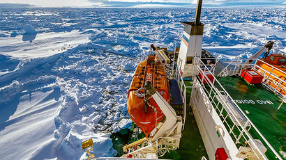 ​Chinese ship fails to break out of ice trap in Antarctica after rescue mission