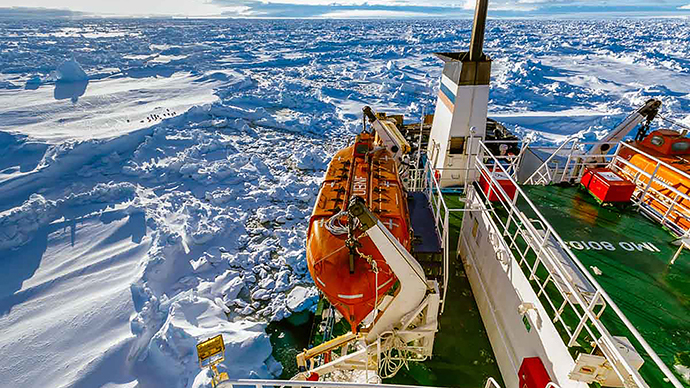 ​Antarctic weather foils Australian icebreaker rescue mission to trapped ship