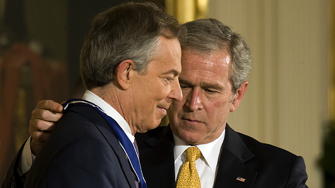 Secret pre-Iraq War talks between Blair and Bush to be published