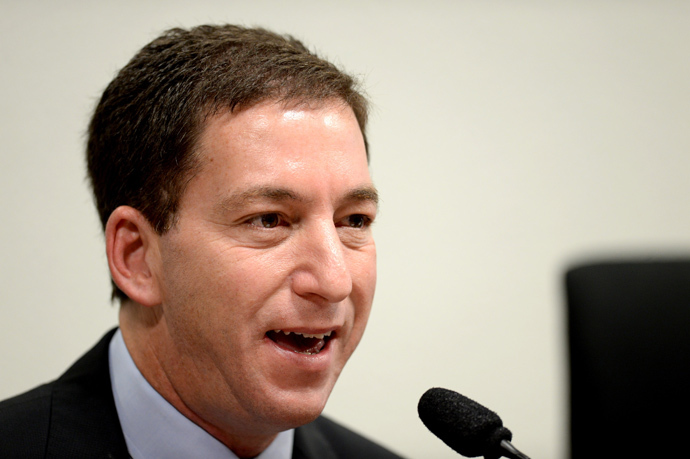 The Guardian's Brazil-based reporter Glenn Greenwald (AFP Photo / Evaristo Sa)