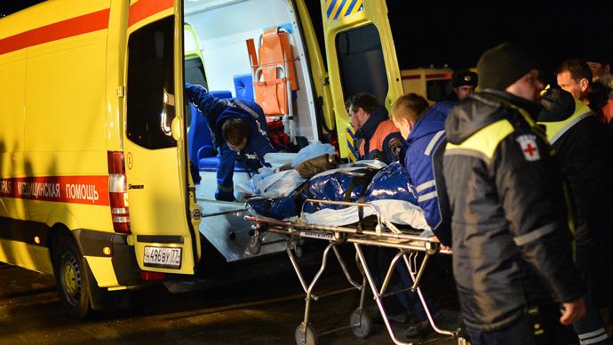 Blanket saves infant from deadly burns in Volgograd blast