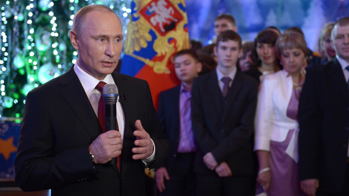 'Fight terrorists until full elimination': Putin changes New Year address after Volgograd terror attacks