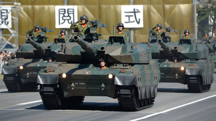 Japan to rethink pacifist constitution by 2020 amid rising tensions