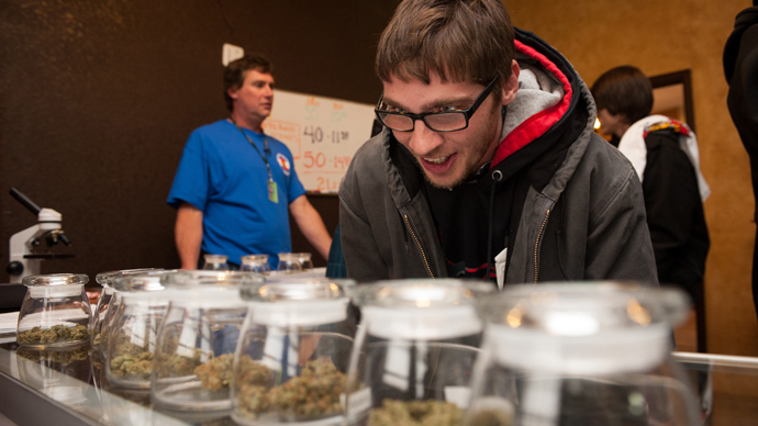 High flyer? Colorado airport sets up marijuana 'amnesty boxes'