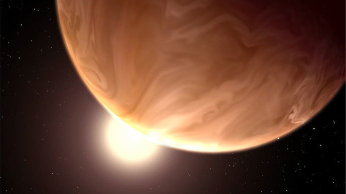 ​Two amazing cloudy 'super-worlds' spotted by Hubble telescope