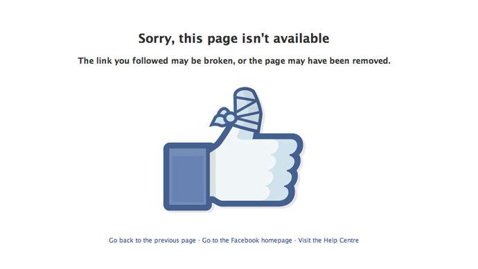 Screenshot from facebook.com