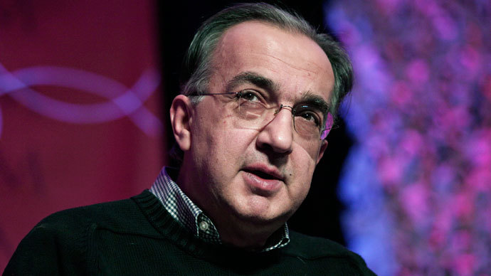 Sergio Marchionne.(AFP Photo / Bill Pugliano)