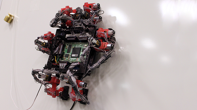 Crawling gecko robot may help tend spacecraft one day (VIDEO)