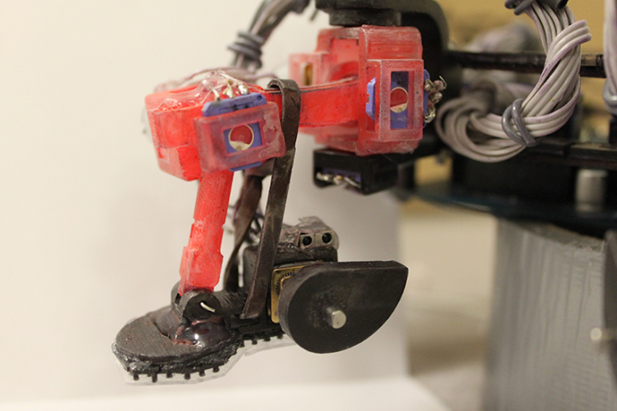 Robot foot (Image from esa.int)