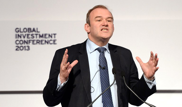 British Energy and Climate Change Secretary Ed Davey (AFP Photo / Stefan Rousseau)