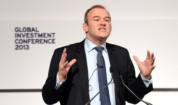British Energy and Climate Change Secretary Ed Davey (AFP Photo / Stefan Rousseau)
