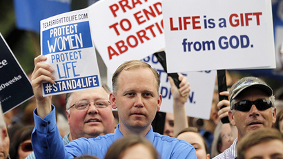Court shuts down most Texas abortion clinics overnight
