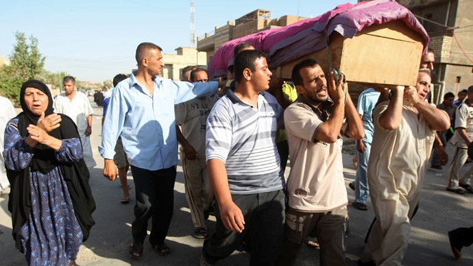 More than 2,400 killed in Iraq in June, highest monthly toll since 2007