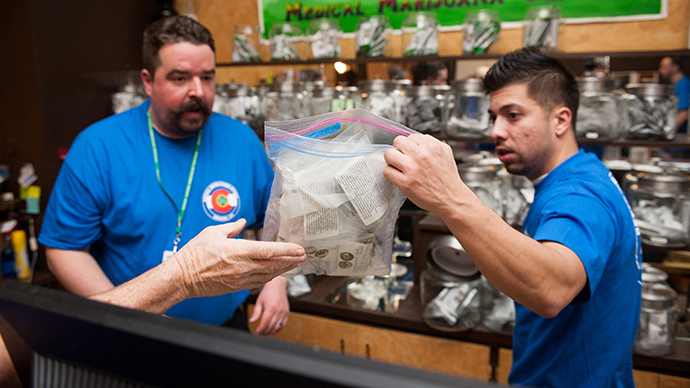 Stock in marijuana companies skyrocket after Colorado sells $1 mil on first day