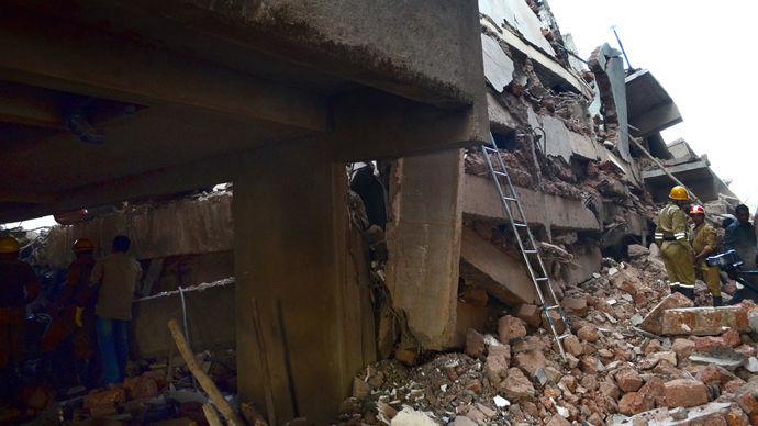 At least 13 dead as building collapses in India's Goa