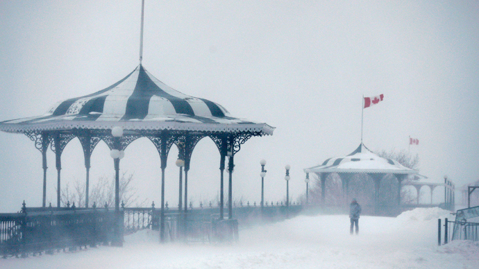 'Polar vortex' hits US Midwest and Northeast with record freezing temperatures