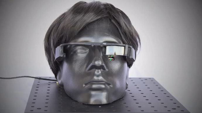 "240"" TV in a contact lens: Revolutionary eyewear rivaling Google Glass to be unveiled"