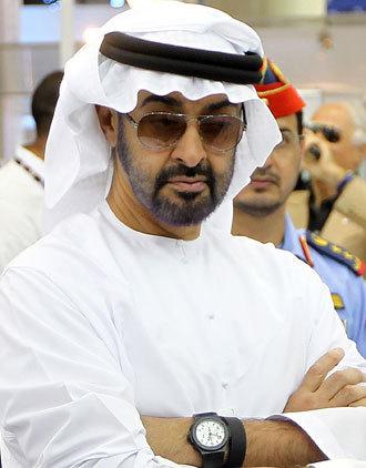 Sheikh Mohammed bin Zayed al-Nahayan.(AFP Photo / Karim Sahib)