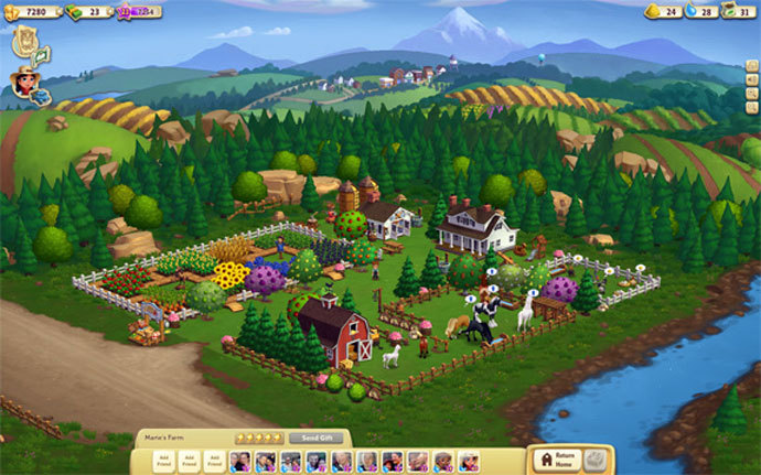 Screenshot from FarmVille 2