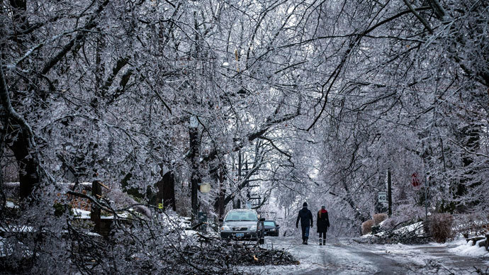 Canadians experience jolting 'frost quakes' as temperatures plunge
