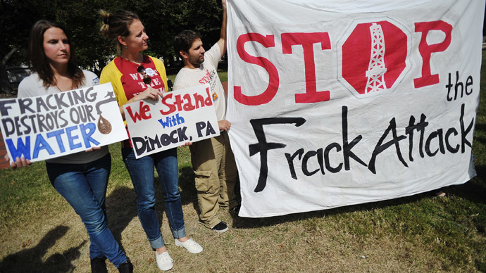 Fracking study finds combustible levels of methane in water after EPA gave the all clear