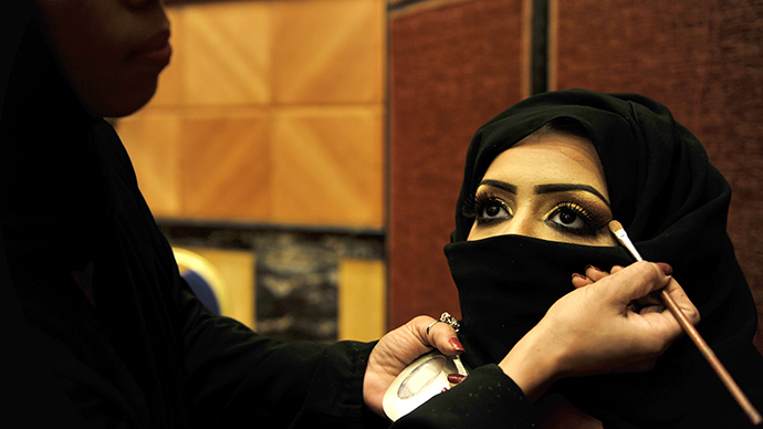 Blame makeup: Molestations in public are 'women's own fault', Saudi poll shows