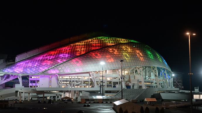 The Fisht Olympic Stadium in the Olympic Park in Sochi. (RIA Novosti / Alexey Kudenko)