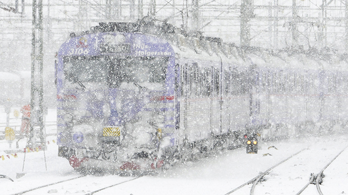 Hundreds stranded overnight on freezing Amtrak trains as 'Polar vortex' moves in