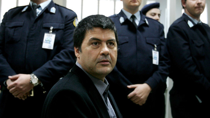 Greek convicted terrorist escapes from prison on Christmas furlough